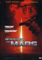 Mission to Mars (Touchstone Movie)