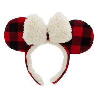 Minnie Mouse Plaid Holiday Ears | Disney Christmas