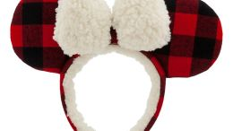 Minnie Mouse Plaid Holiday Ears