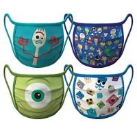 Pixar Face Masks 4-Pack   Disney Face Masks