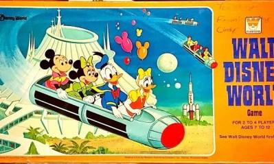 Walt Disney World Board Game – 1977