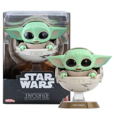Baby Yoda Bobble-Head Figure by Hot Toys – Star Wars: The Mandalorian