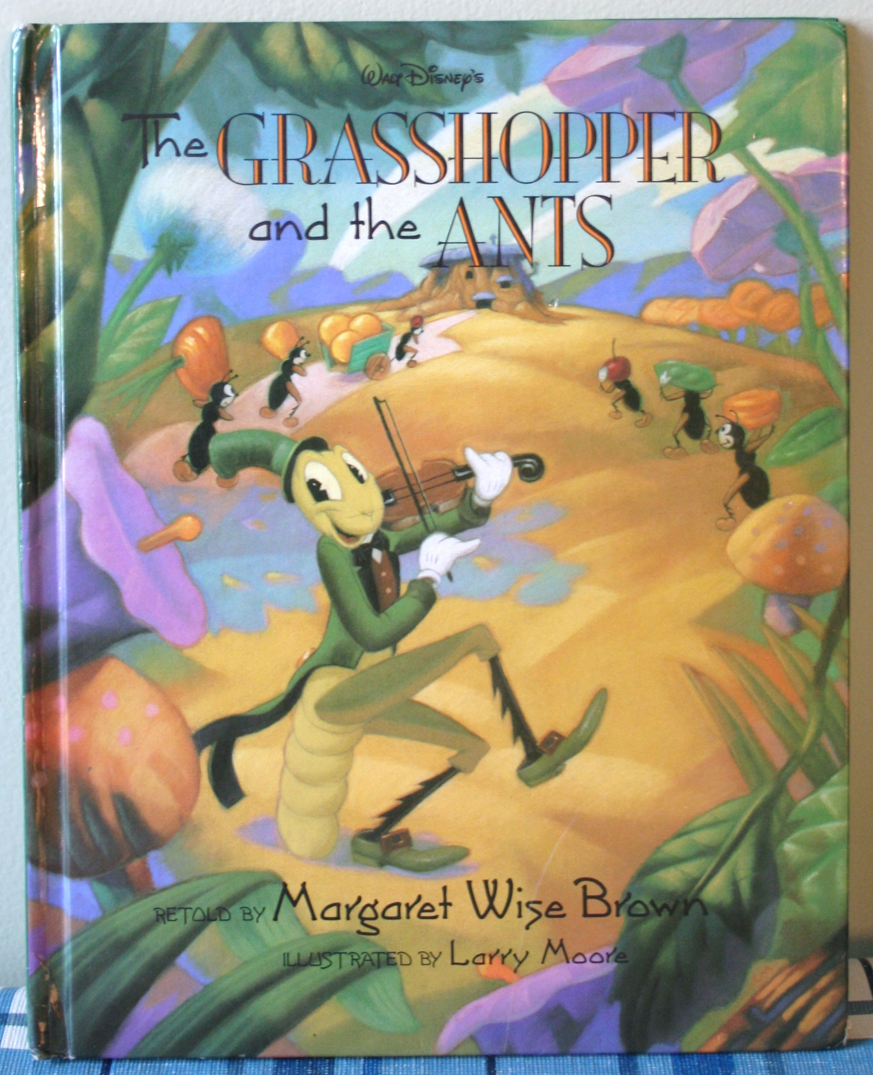 Book Review The Grasshopper And The Ants