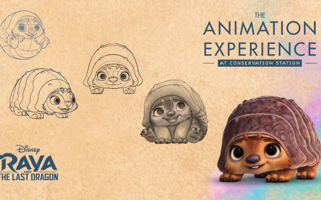 Raya and the Last Dragon Drawing Experience coming to Animal Kingdom