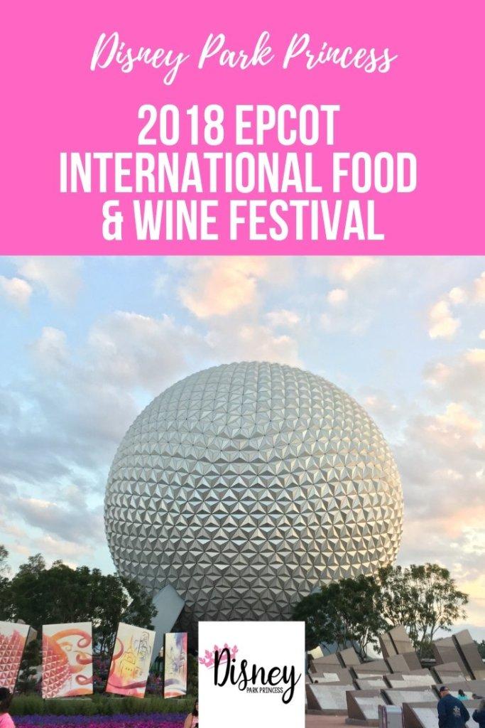 2018 Epcot International Food & Wine Festival
