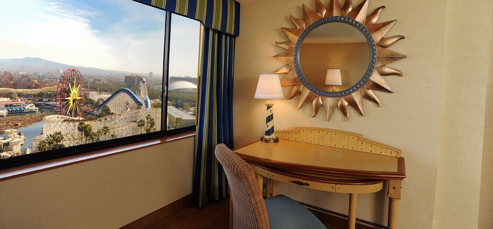 A Room at Disney's Paradise Pier Hotel