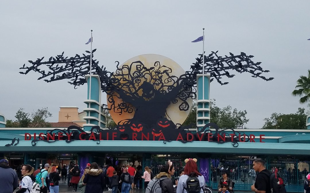 Halloweentime at the Disneyland Resort
