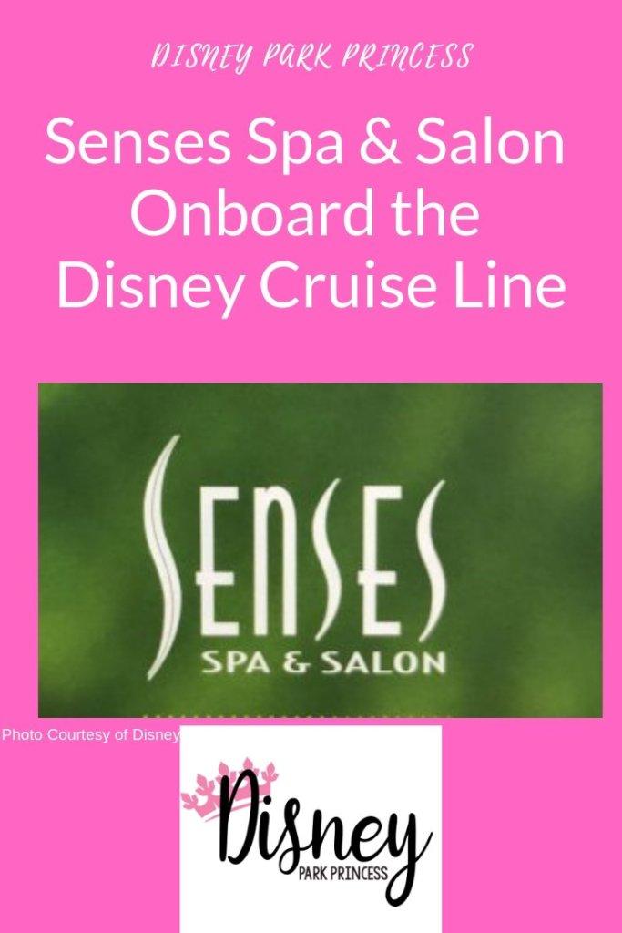 Senses Spa onboard Disney Cruise Line