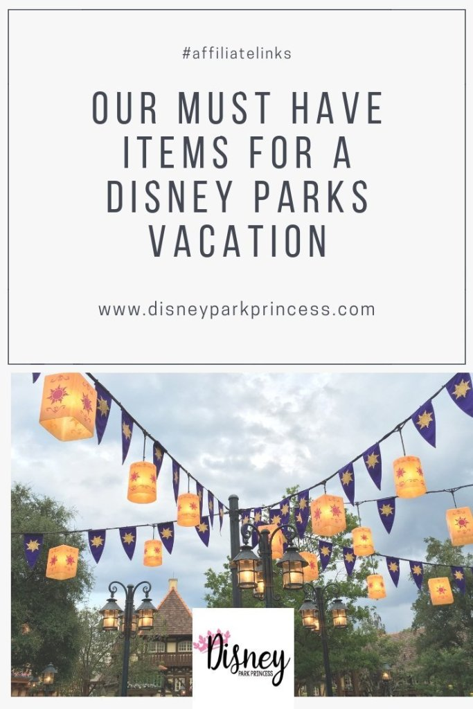 Walt Disney World Must Have items! From sunscreen to phone chargers, learn it all her. #disneyworld #disneyland #musthaves #disneyparks