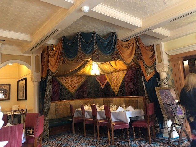 Walt's Restaurant at Disneyland Paris