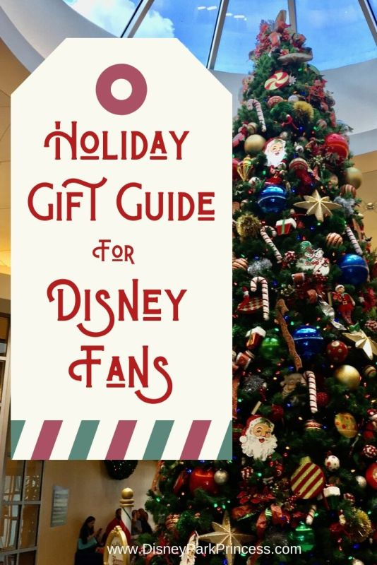 Looking for the perfect gift for the Disney lover in your life? Our holiday gift guide has something for everyone! #disney #holiday #giftguide #disneylover