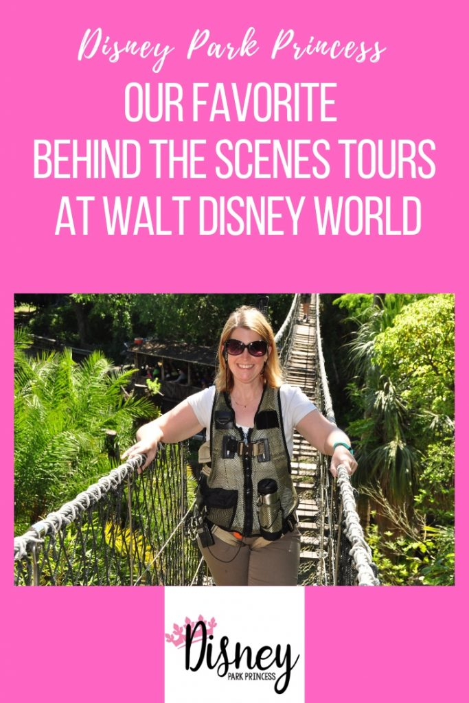 Behind the Scenes Tours