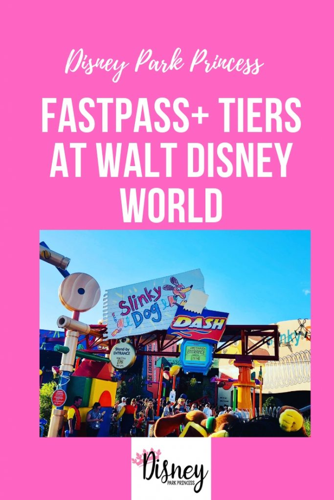 Walt Disney World FastPass Plus Tiers