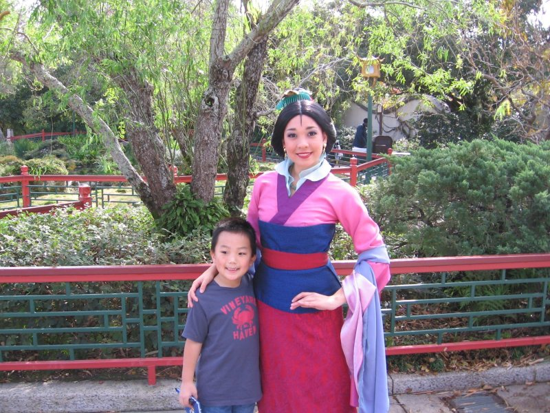 Mulan can be found at Epcot in the China Pavilion