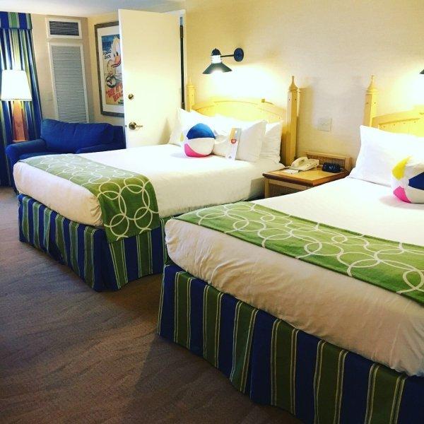 Paradise Pier Hotel Disneyland 1-bedroom Suite