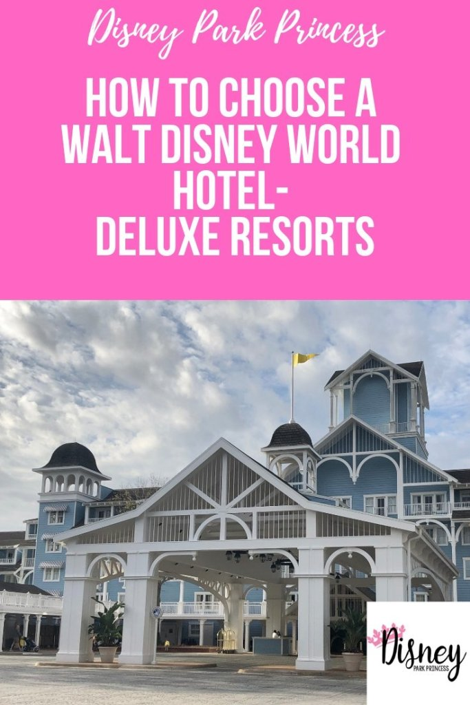 How to Choose a Walt Disney World Hotel- Deluxe Resorts