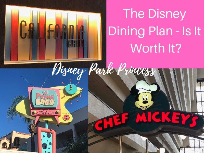 Is the Disney Dining Plan at Walt Disney World Worth It?