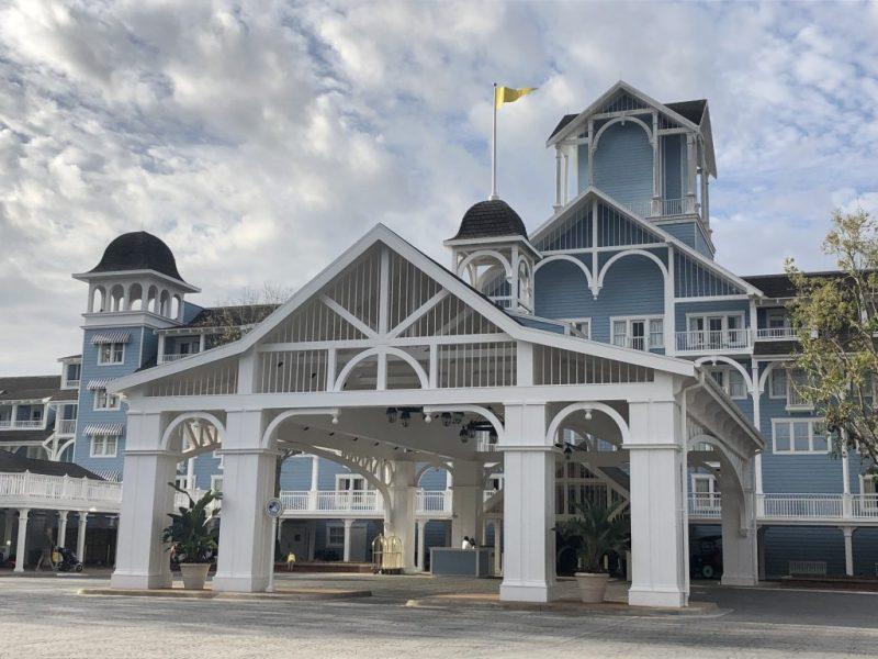Disney's Beach Club Entrance hotel near epcot