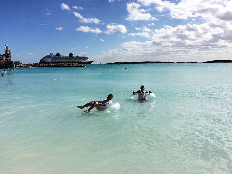 disney cruise line castaway cay perfect family vacation