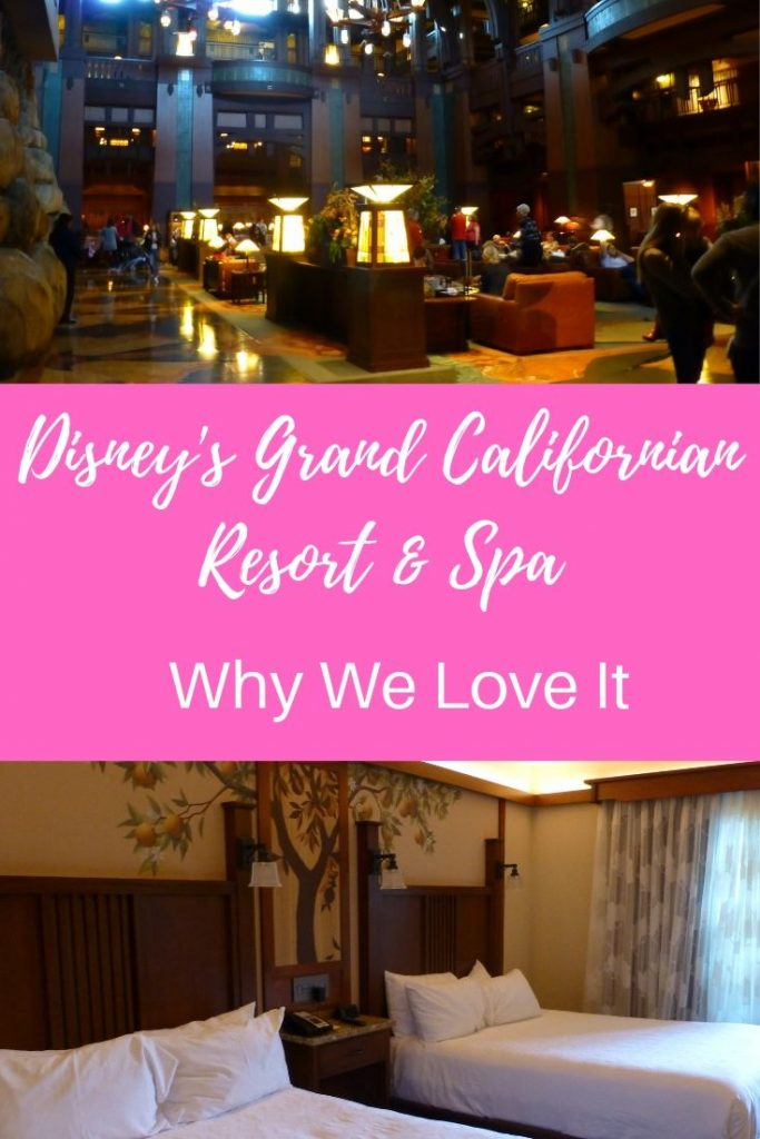 Disney's Grand Californian Resort & Spa Disneyland
