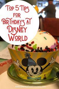 Our Top 5 Tips for Celebrating Your Birthday at Walt Disney World! #disneyworld #birthday