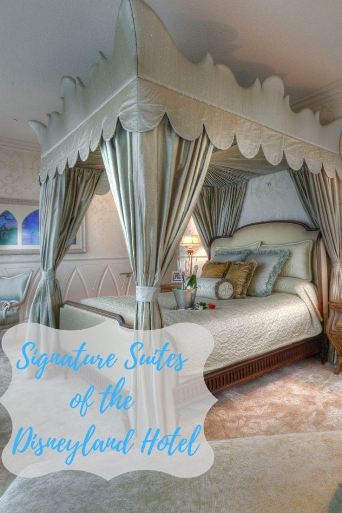 The Signature Suites of the Disneyland Hotel are incredible. These luxury rooms make for a once in a lifetime vacation! #disneyland #disneylandhotel #luxurytravel