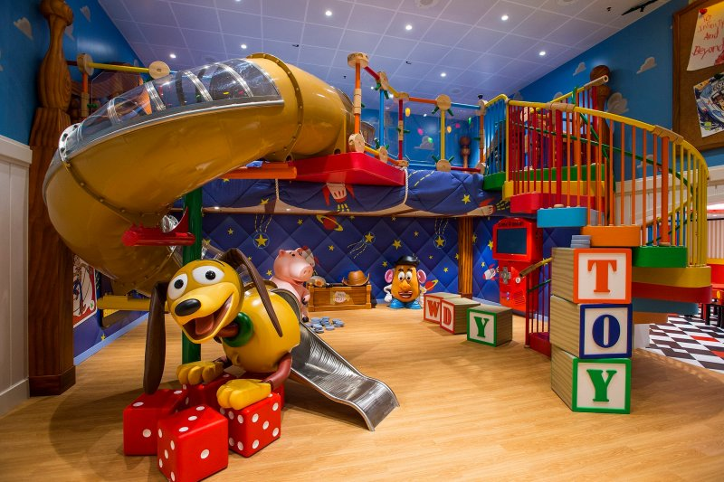 Andy's Room on the Oceaneer's Club on Disney Cruise Line