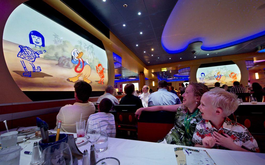 Animator's Palate Dining Room on Disney Cruise Line