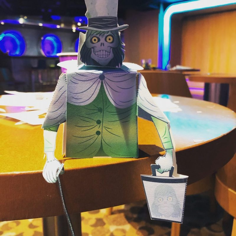 Disney Cruise Line Hatbox Ghost Craft