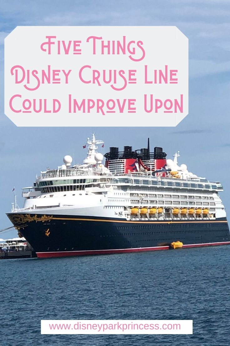 There are many things that set Disney Cruise Line apart from other lines that I love. But there are a few things that Disney could improve upon. #disneycruiseline #disney #dcl