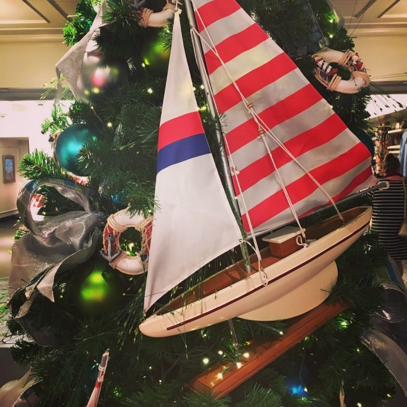 Walt Disney World Yacht Club Christmas Tree Holiday