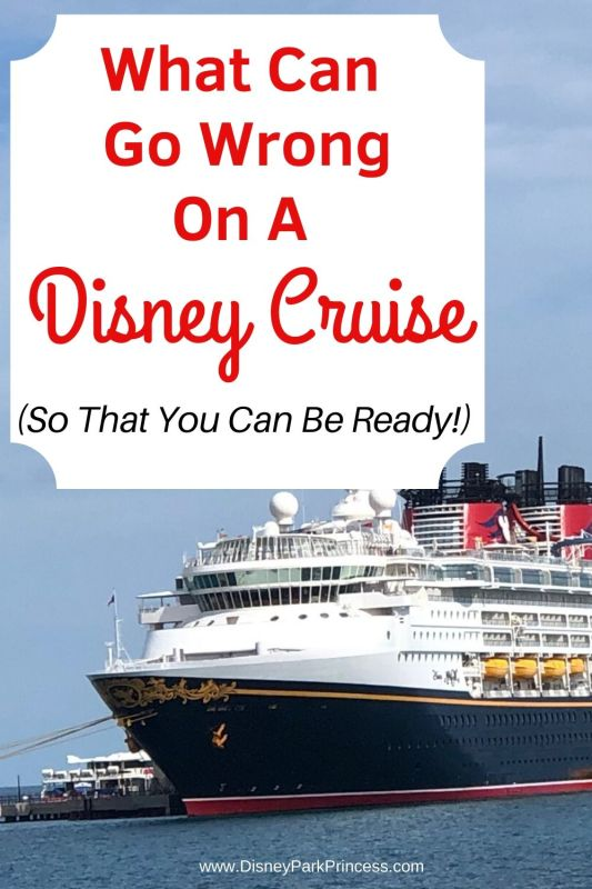 "What Can Go Wrong On your Disney Cruise (And how to be ready!) Not even Disney Cruise Line can be perfect all of the time! Learn some of the most common ""issues"" you may experience on your Disney Cruise, and how to handle them. #disneycruise #travel #whatcangowrong #solutions"