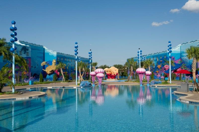 Walt Disney World Art of Animation Big Blue Pool