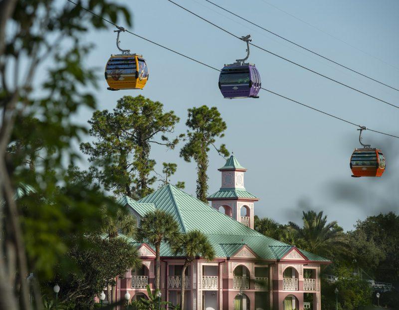 Skyliner Service at Disney's Caribbean Beach Moderate Resort