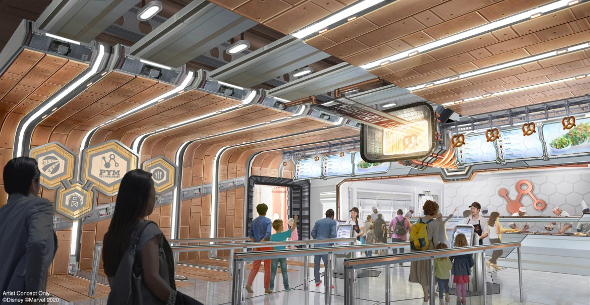 Pym Test Kitchen may join Web-Slingers: A Spider-Man Adventure at Avengers Campus in Walt Disney Studios Park