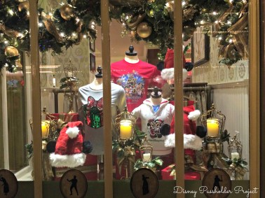 Window Display - Christmas at Magic Kingdom