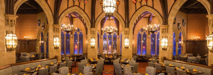 Romantic Disney World restaurants