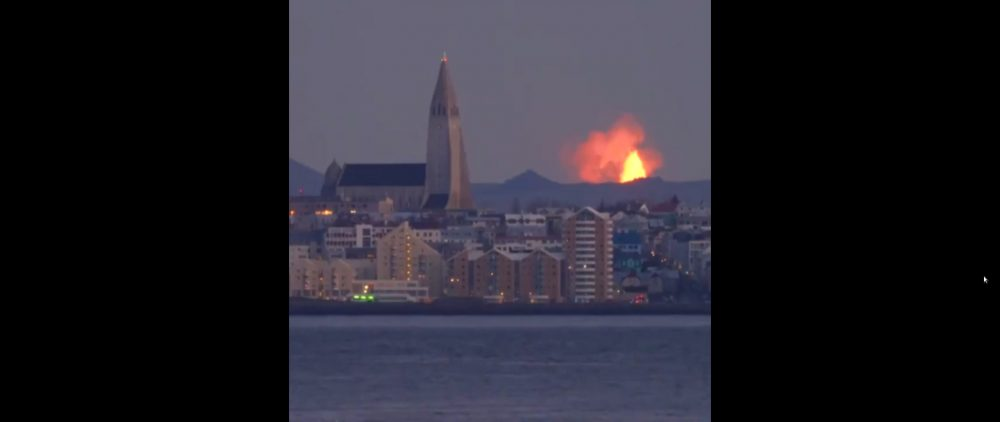 Incredible Video of Iceland's Fagradalsfjall Volcano Erupting