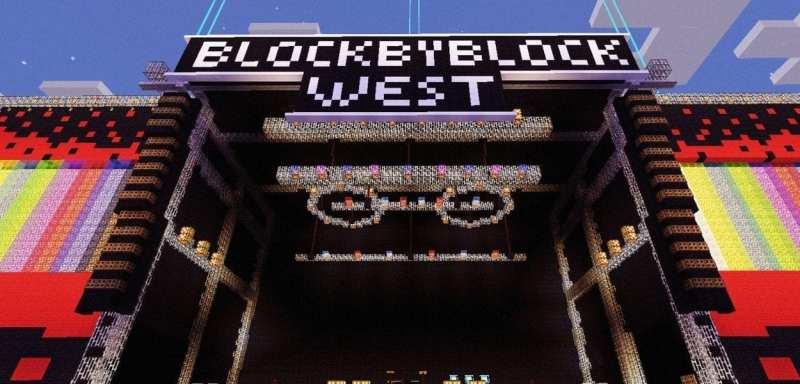 Block By Block West Minecraft stage