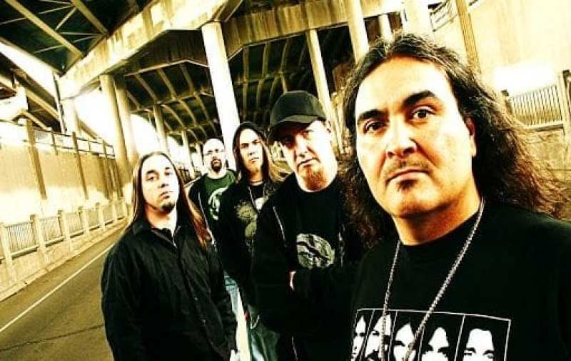 the band Cephalic Carnage promo