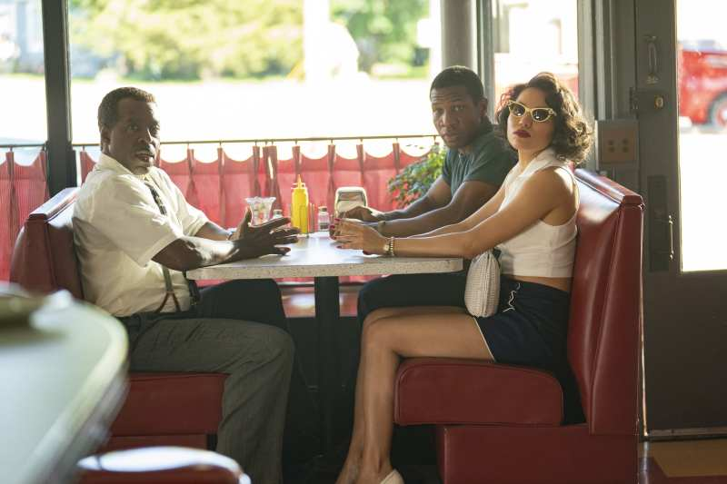 George, Lettie and Tic at a diner
