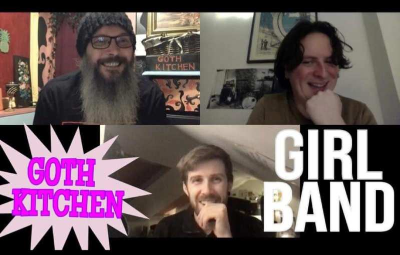 Girl Band and Brian Mimpress in the Goth Kitchen