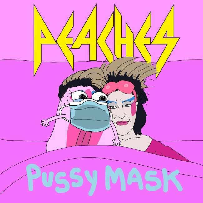 Peaches pussy mask single cover