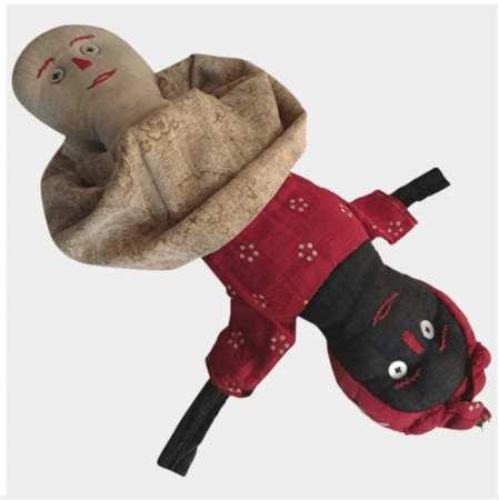 topsy turvey rag doll