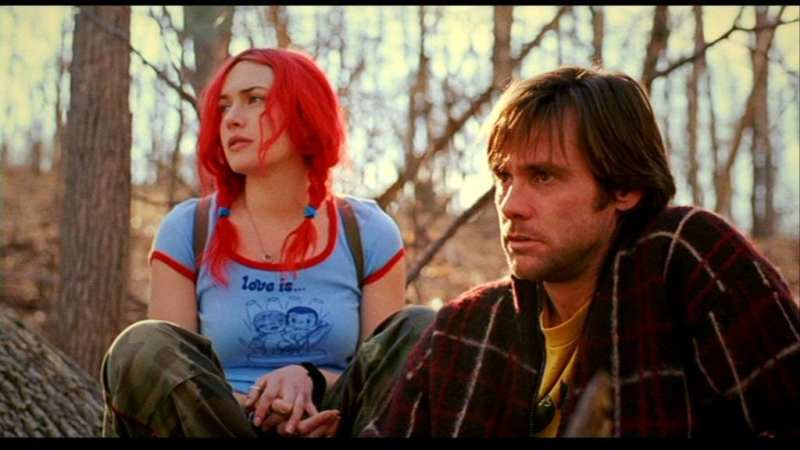 Clementine and Joel in eternal sunshine of the spotless mind