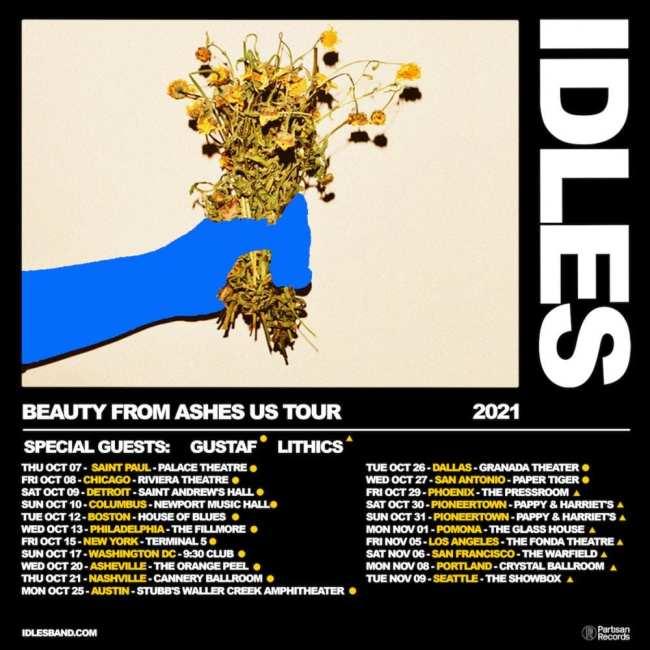 idles us tour poster