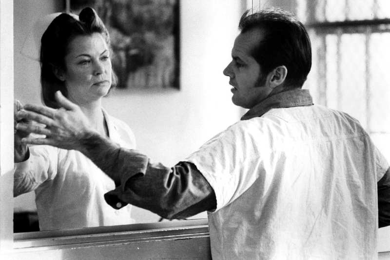 Nurse Ratched and Randle McMurphy