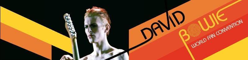 david bowie world fan convention banner