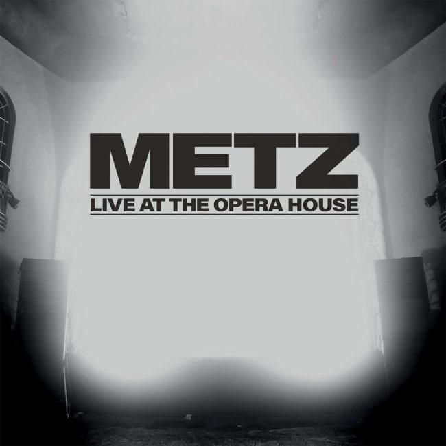 metz live at the opera house cover
