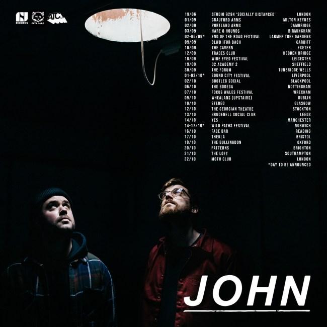 JOHN tour poster